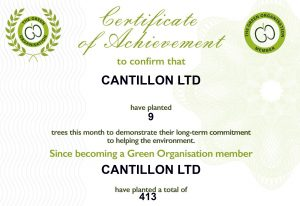 Cantillon - Green Organisation